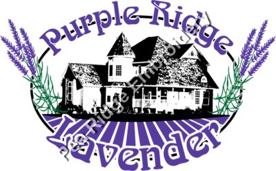 Purple Ridge Lavender Print
