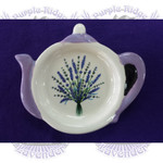 Ceramic Lavender Tea Bag Holder