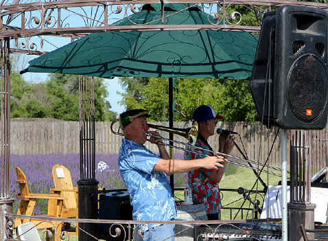 Brad & Bruce Power Duo at Purple Ridge Lavender Festival 2011