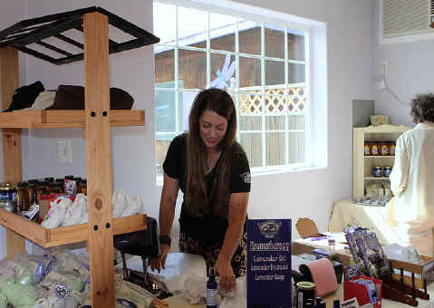 Gift Boutique at Purple Ridge Lavender